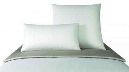 Joop!. lenzuola raso di cotone makò micro pattern 4040, 100% cotone, bunt, fodera cuscino singola 80 x 80 cm