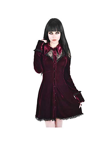 Beste Mädchen Halloween Kostüm College - BGFDSV Dead Kostüm Gothic Dark Punk
