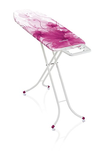 Leifheit 71621 Bügeltisch Classic M Basic Crazy Pink Tabla de Planchar, Metal, Rosa, 40.5x8x141 cm