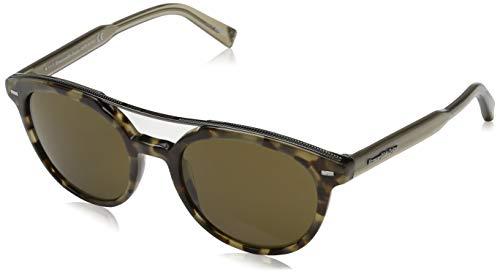 Ermenegildo zegna sonnenbrille ez0006 occhiali da sole, grigio (grau), 51.0 uomo