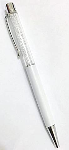 L&C®QUALITY CRYSTAL BALLPOINT PEN WITH SWAROVSKI CRYSTAL ELEMENTS PENS +REFILL+POUCH BAG GIFT