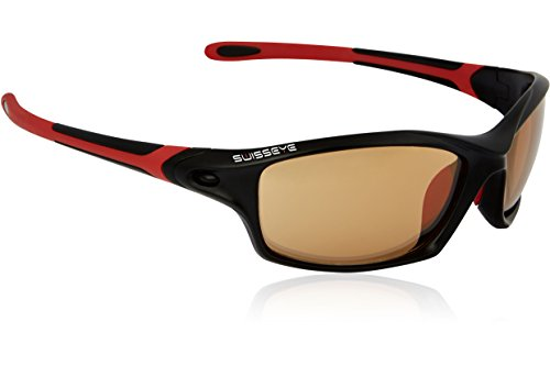 Swiss Eye Sportbrille Grip Black Matt/Red