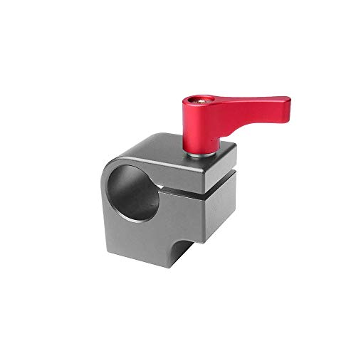 Docooler 15mm Rod Clamp Halterung Light Mount Stand Bracket mit Articulating Arm Monitor LED-Licht mit 1/4 Zoll Schraube Verbunden Articulating Monitor Arm