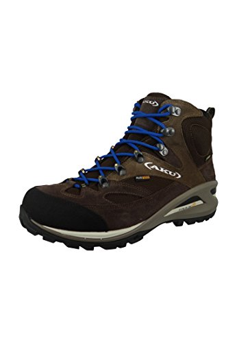 Aku Scarpe Transalpina GTX Gore-Tex, Brown/Blue - Size UK 8