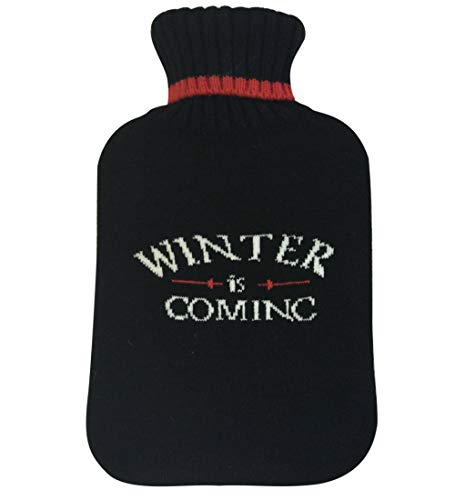 Winter is Coming Wärmflasche, gestrickt, 2,0 l
