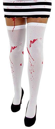Foxxeo 35067 | blutige Halloween Strümpfe