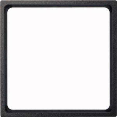 Merten 518114 Zwischenring für Kombieinsätze nach DIN 49075, anthrazit, System M