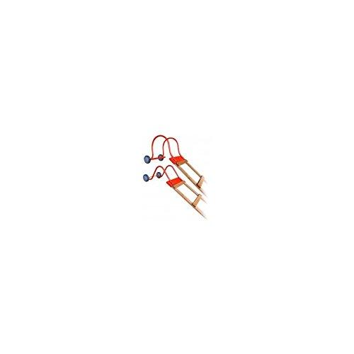 Outifrance 8833400 Crochet de faitière à roulettes pour échelle de toit