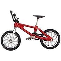 Mini modelo de bicicleta juguete para niños y adultos de aleación de zinc dedo juguete BMX bicicleta bolas modelo Gadgets 1 pieza Color al azar