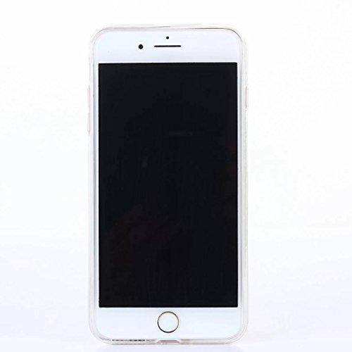 iPhone 7 Plus Hülle, iPhone 7 Plus Hülle, Gift_Source [ Muskel männlich ] Transparent Weiche Silikon Schutzhülle TPU Bumper Case Rückdeckel Hülle Tasche Mobile Phone Case für Apple iPhone 7 Plus E1-Muskel männlich