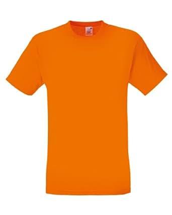 Fruit of the Loom Men's American Original 3-Pack T-Shirt Orange - Small