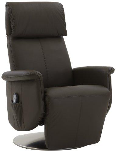 Preisvergleich Produktbild Sino-Living SE-905 Shiatsu-Massagesessel,  motorischer Verstellung von Rücken- und Fußteil,  echtleder braun
