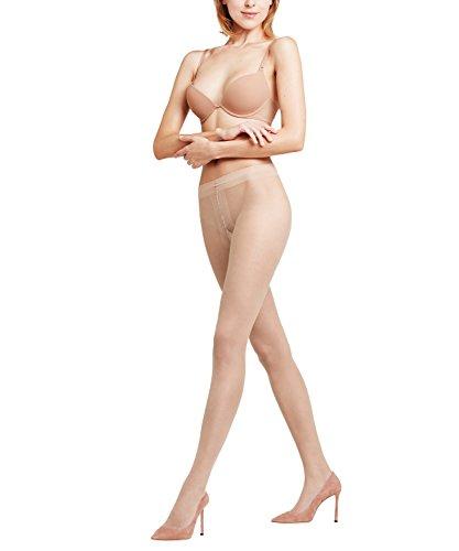 FALKE Damen Strumpfhosen Shelina 12 DEN, Ultra-Transparente, 1 Stück, Beige (Crystal 4409), Größe: M-L