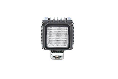 HELLA  1GA 996 192-011 Power Beam 3000, LED Arbeitsscheinwerfer, weitreichende Ausleuchtung, 16 LEDs, 3.000 Lumen,  stehender Anbau, mattschwarz beschichtetes Aluminiumgehäuse, 12V/24V