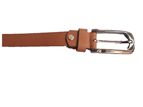 Fashionairs Formal/Casual Tan Colour Genuine Leather Belts For Men