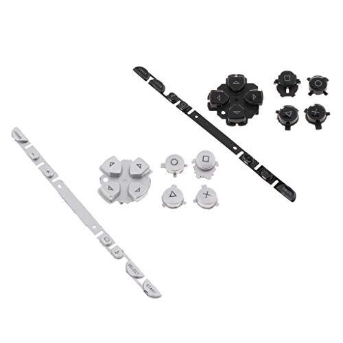 Baoblaze Set für Tastatur, 2 Tasten, links rechts für Controller Sony PSP 1000 -