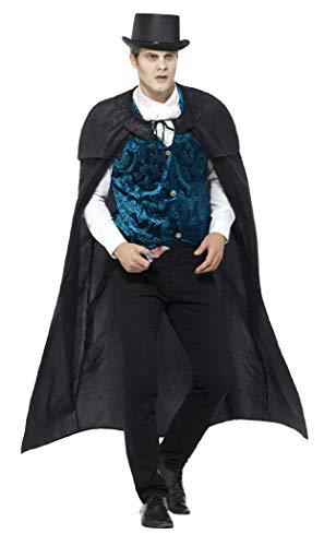 Smiffys Herren Deluxe Jack der Lustmörder Kostüm, Umhang, Weste, Krawatte und Messer, Größe: L, 46840 Deluxe Messer
