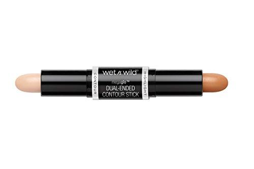 Wet n Wild Light y Medium Megaglo Dual-Ended Contour Corrector Maquillaje - 1 unidad