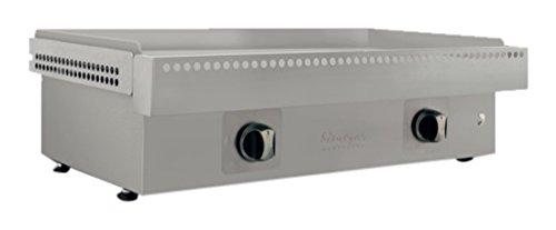 Simogas EXT75REC Plancha Extreme INOX Plaque Acier Rectifiée 12 mm 75 cm