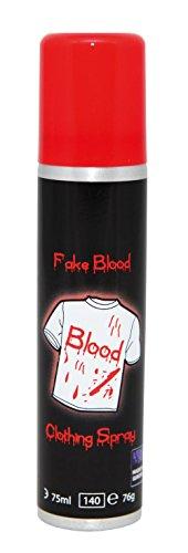Party Pro 631105622flacone spray 75ml di sangue, rosso