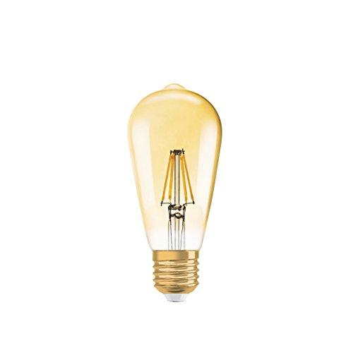 OSRAM LED Vintage Edition 1906 / LED-Lampe in Edison Form mit E27-Sockel / Nicht Dimmbar / Ersetzt 35 Watt / Klar / Warmweiß - 2700 Kelvin / 1er-Pack