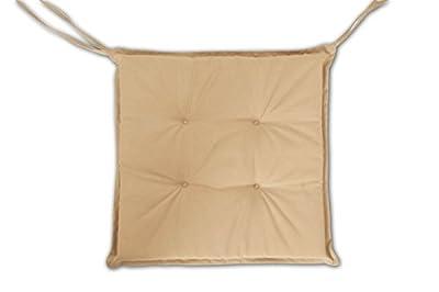 SAM Stuhlauflage für Klappstühle, Gartenstühle, Gartensessel, in beige von SAM® bei Gartenmöbel von Du und Dein Garten