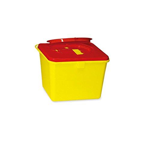 Kanülenabwurfbehälter ratiomed 193525 Safe-Box 6,0 Ltr. -neue Ausführung -