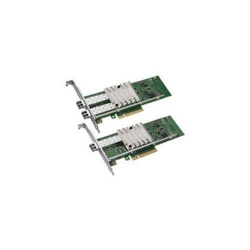 Intel X520-SR2 2-Port 10G SFP + Ethernet, PCI-e E10G42BFSR 82599ES Converged Network Adapter, PCI-E