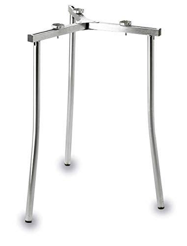 LACOR Garcima 5020095 Soporte para Paellero Butano, Aluminio, Gris, 56 cm