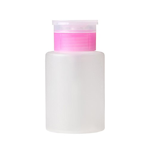 ck Flasche Pumpspender Nail Art Aceton Puder Make-up Entferner Maniküre (Leere Flasche) ()