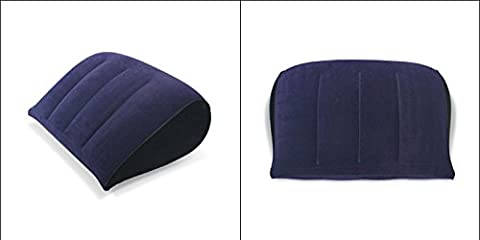 Inflated Pillow , Lightweight Compressible PVC Inflatable flocked Air Pillow for Sex,Sexual Posture Mat,Backseat Pillow For adults ,Inflatable Pillow Camping Travel Soft Blow-Up Without Pump(Buy More than 3 (Including 3), We Will Send DHL International Courier for You)