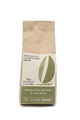 Sea Island Coffee Jamaica Blue Mountain, St Cloud Estate, Unroasted Raw Green Coffee Beans (1kg Bag) from Sea Island Coffee