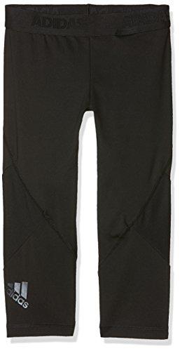 adidas Mädchen YG Ask SPR 3/4 Tights, Black, 910Y (Mädchen Heiße Leggings)