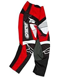Axo SR Junior Pantalon de cyclisme, enfants, rouge, M