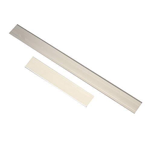 OurLeeme Edelstahl Tonschneider Klinge Tissue Cutter Klingen DIY Polymer Clay Cutting Tools