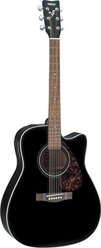 Yamaha FX370C Elektroakustische Gitarre mit Cutaway: schwarz