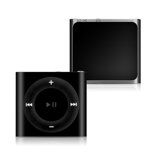 Solid State Black Design Protective Decal Skin Sticker for Apple iPod Shuffle 4G (4th Gen) MP3 Player  available at amazon for Rs.1749