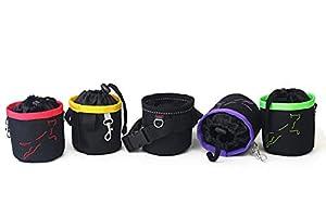SACOCHE à FRIANDISES Pour Chien. Le sac avec une ceinture. Le sac coloré pour les chiens. Sacs à friandises. Fait a la main par DogDirect London TrCol