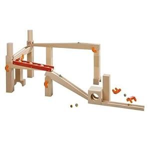 Haba 3498 - Pista de canicas grande con looping