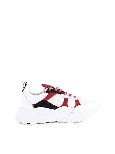 RICHMOND Herren 7001White Weiss Stoff Sneakers