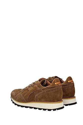 2011713640130143 Diadora Heritage Sneakers Uomo Camoscio Marrone Marrone