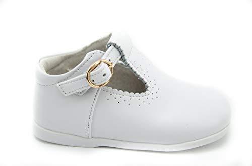 BUBBLE BOBBLE B859 Zapato Pepito NIÑO - Niños Color: Blanco Talla: 23