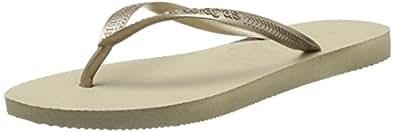 Havaianas Slim Black Flip Flops - UK 5 - BR 37/38