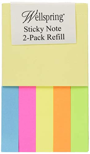 Wellspring Notizblock-Sticky Note Refill Pads-2Pack -
