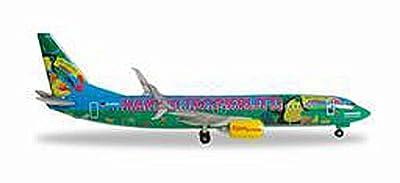 Herpa 528191 - TUIfly Boeing 737-800 Haribo Tropifrutti, Flugzeug, mehrfarbig von Herpa Miniaturmodelle GmbH