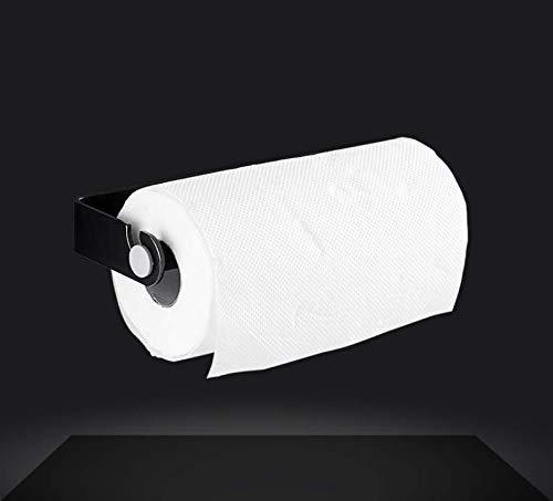 Amgend Punch-Free Kitchen Papierhandtuchhalter Regal Wrap Film Rack Lagerung Rolle Papier Badezimmer Waschen Handtuch (Wrap Papier Lagerung)