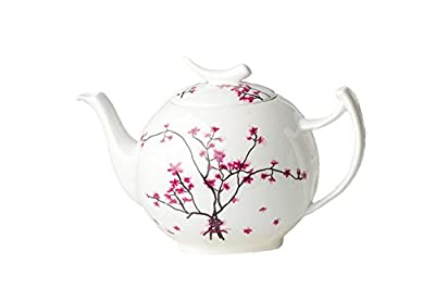 "Fine Bone China TeaLogic ""cherry blossom"" théière 1 l"