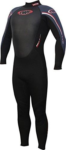 TWF XT3 Combinaison de plongée intégrale pour homme - noir - Noir - L (Taille Fabricant: LGE)