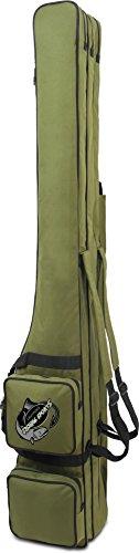 normani Rutentasche RodBox Triple Allround Rutenfutteral - 3 Fächer - verschiedene Längen Farbe Oliv Größe 1,50 m