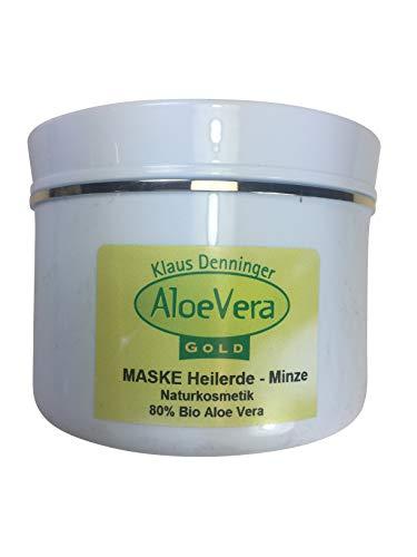 Aloe Vera Gold Creme-Maske Heilerde Minze Vorteilspack, 250 ml